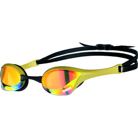 arena Cobra Ultra Swipe Mirror Goggles yellow copper/gold